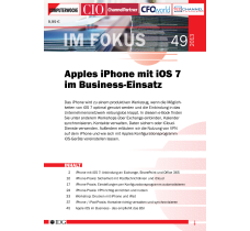 Apples iPhone mit iOS 7 im Business-Einsatz